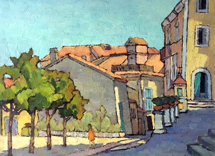 艺商城首页 现代书画 > 《意大利的街道》(俄罗斯油画展售)